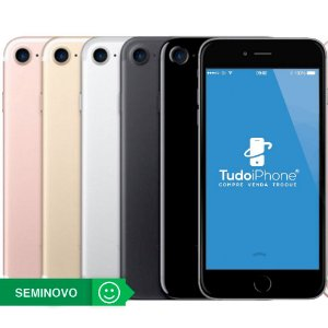 iPhone 7 - 256GB - Seminovo - 1 Ano de Garantia TudoiPhone