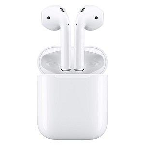 Fone de Ouvido Apple AirPods 2 Original - 1 Ano de Garantia Apple