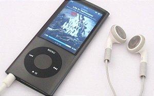 iPod Nano 5ª Geração - 16GB - Space Gray - Seminovo