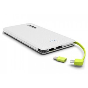 Bateria Power Bank Slim 10000mAh - Pineng PN-951 (com cabo Lightning e V8)