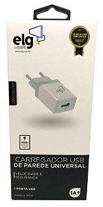 Carregador de Parede Universal USB - WC1AE - ELG