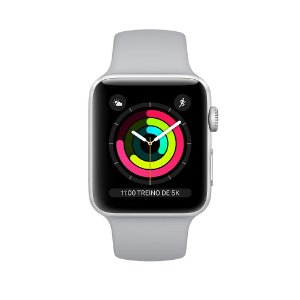 Apple Watch Series 3 Alumínio - 38mm - Novo - 1 Ano de Garantia Apple