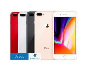 iPhone 8 Plus - 64GB - Usado - 3 Meses de Garantia TudoiPhone