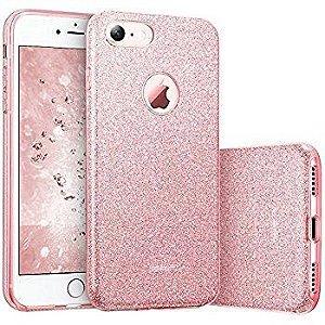 Capinha Luxo Glitter Rosa