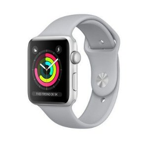 Apple Watch Series 3 Alumínio - 42mm - Seminovo - 1 Ano de Garantia
