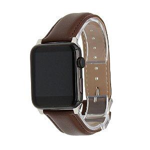Pulseira de Couro para Apple Watch 42mm