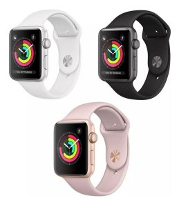 Apple Watch Series 3 - 38mm - Alumínio - Seminovo - 3 Meses de Garantia TudoiPhone