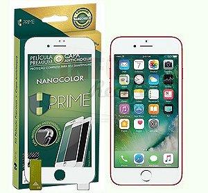 Película NANOColor HPrime para iPhone - Com Bordas Brancas