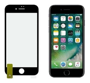 Película NANOColor HPrime para iPhone - Com Bordas Pretas