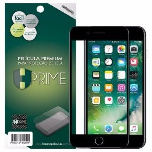 Película Safety 3D HPrime para iPhone - Com Bordas Pretas