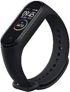 Relógio Inteligente Mi Band 4 Original Xiaomi Smartwatch Pulseira Versão Internacional Global Monitorização de Frequência Cardíaca 0,95 AMOLED Rastreador de Fitness Tela Colorida Prova D'agua até 50m