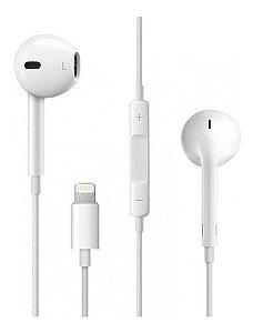 Fone de Ouvido Apple EarPods Original Entrada Lightining - Seminovo