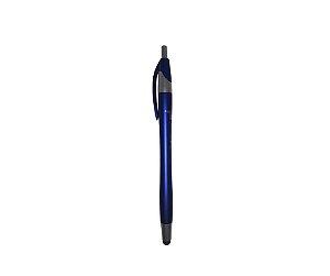 Caneta Plástica TudoiPhone - Touch - Azul