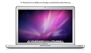 "Macbook Pro 15"" 2010 - Intel Core i5 2.4GHZ -  4GB Ram - 480GB SSD - Usado"