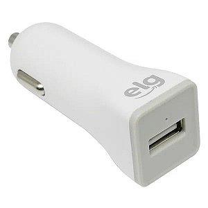 Carregador Veicular USB Universal - Carga Rápida - ELG