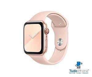 Pulseira Apple Watch - Silicone Tradicional 42/44mm - Rosa claro