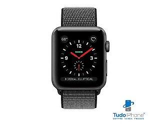 Pulseira Apple Watch - Loop Nylon  38/40mm - Cinza