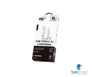 Cabo Lightning Type C USB 3.0 - TCL20 - ELG - 2m