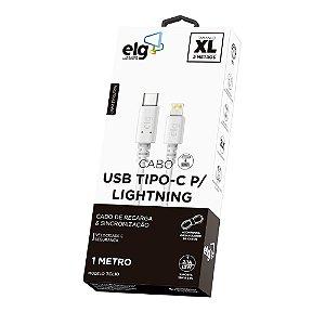 Cabo Lightning Type C USB 3.0 - TCL10 - ELG - 1m