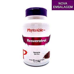 Resveratrol (Semente de Uva) - PhytoAble - 60 cps