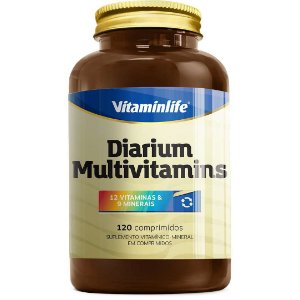 Diarium Polivitaminico - Vitaminlife - 120 cps