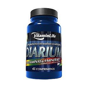 Diarium Polivitamínico - Vitamin Life 45 Caps