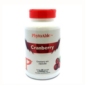 Cranberry 550mg - Phytoable - 60 cps