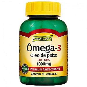 Omega 3 1000mg Maxinutri - 60 cáps