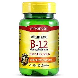 Vitamina B12 - Maxinutri - 60 cps