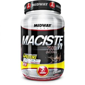 Maciste Vit 7500 Overall - 1,5 Kg - Sabor Chocolate - Midway
