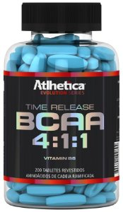 BCAA 4.1.1 Time release - Atlhetica - 200 tab