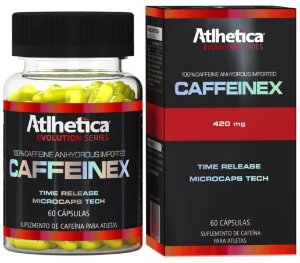 Caffeinex Time Release - Atlhetica - 60 cps