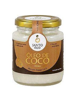 Óleo de Coco Virgem 200ml - Santo Óleo