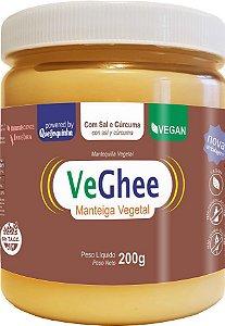 Veghee Manteiga Vegana com Curcumã e Sal - Natural Science - 200g