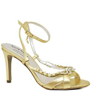Sandália de Festa - 6147 - Dourada