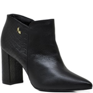 Bota Ankle Boot Preto - 65048