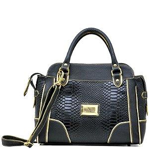 Bolsa Estruturada  - 10355 - Preta