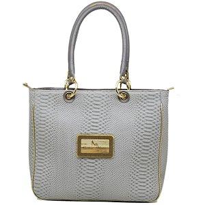 Bolsa - 10361 - Cinza - Ouro