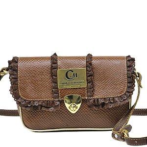 Bolsa Transversal - 10362 - Caramelo
