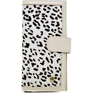 Carteira Média - Pêlo Leopardo - 286