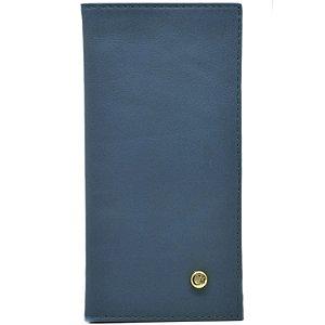Carteira Pequena - Napa Azul - 275