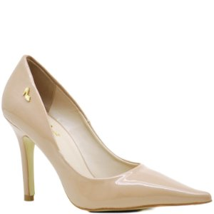 Scarpin Bico Fino Fashion - Salto Alto - Verniz Antique - 71116
