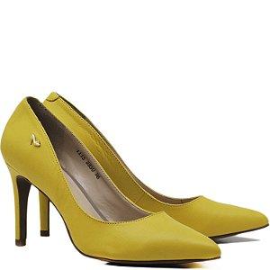 Scarpin Clássico Liso - 3350 - Amarelo