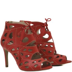 Sandália Open Boot - 6197 - Vermelho