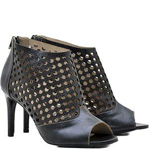 Sandália Open Boot - 6212 - Preta