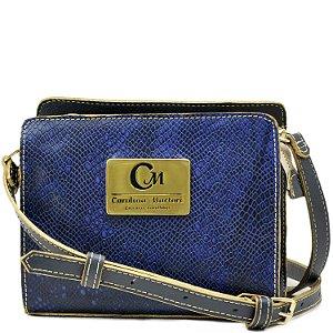 Bolsa Pequena Transversal - Azul / Azul - 10363