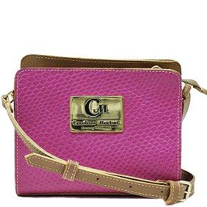 Bolsa Pequena Transversal - Pink / Rum - 10363