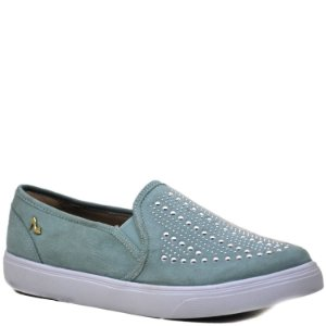Tênis Slip On - Suede Alga - MS 4414425