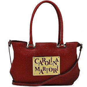 Bolsa Glamour - Vermelha - FLOR 701