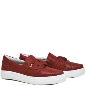 Tênis Slip On Big Laço - Campari - VER13103